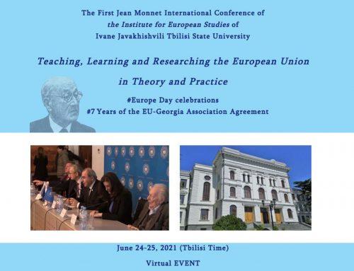MoU between ICC Georgia and European Studies of Tbilisi State University
